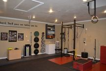 Garage gym (crossfit)