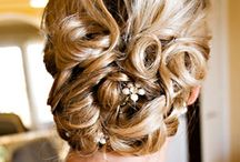 wedding hair / by Bernadette Seagrave