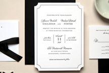 Classic Wedding Invitations / by Emma Thulborn