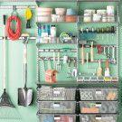 Ordnung in Werkstatt, Keller, Garage & Co / Ideen zum Ordnen des Werkzeugs, von Lagergut, Fahrrädern, Gartenhauszubehör etc.