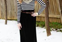 Outfits - Maxi skirt / dress