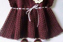 crochet baby dresses / by Heide Madoar