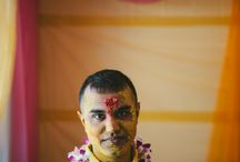 Indian haldi ceremony / by Hardy Klahold Photography