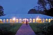 Outdoor Weddings - Barn Weddings / Great ideas for Outdoor Weddings, Tents, Decor, Lighting