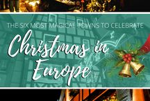 Christmas in Europe / Christmas in Europe, white Christmas, Christmas markets, mulled wine, Germany Christmas, Denmark Christmas, Austria Christmas, Estonia Christmas, Europe winter, Christmas travel, Christmas destinations, Christmas travel ideas, Christmas travel tips