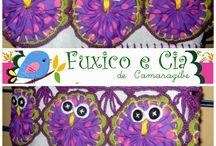 Panos de prato / http://www.elo7.com.br/fuxicoeciadecamaragibe