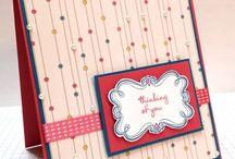 Cards SU Sweetly Framed
