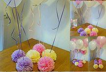 décor balões