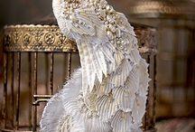 Удивительные птицы-броши  Юлии Гориной