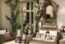 patios y jardines