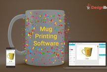 2D & 3D Mug Design Software