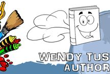 Wendy Tush, Author / Wendy Tush is a children's book author who specializes in instructional, how to, and activity books.
