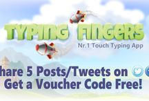 Free Voucher Code / Now get the free voucher code!! Just share 5 social posts or tweets on Typing Fingers social media platform.....