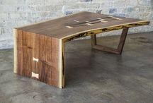 live edge tables