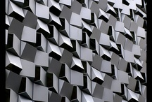 textured walls - inspiration / Beautiful textures make these projects