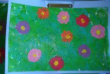 Primavera / Treballs plàstics i altres relacionats amb la primavera