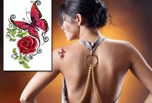 Butterfly Tattoos / Get ready for Spring with these beautiful butterfly tattoos. Our tattoos are high quality tattoos, once you try them you'll never go anywhere else.