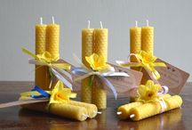 Beeswax candles and Gift sets