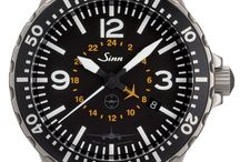 Sinn Watches / Sinn Watches are renowned for being exceedingly functional, quality, mechanical watches. Offering a dynamic range of pilot watches, divers watches, chronograph watches and financial center watches. Sinn watches encompass the high quality, toughness, durability and precision needed in both everyday and extreme situations. These characteristics are no doubt amplified by the incorporation of special technologies including Diapal, Dehumidifying technology and tegiment used in many Sinn Watches.