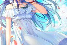 Anime girl kawai