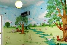 Παιδικό δωμάτιο ζωγραφια
