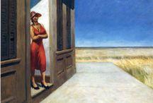 Edward Hopper / #hopper #paints #loneliness #art