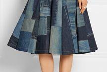 Patchwork skirt ideas