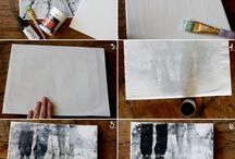 DIY-Wall Art / by April Radcliff-Caraher