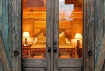 Barn doors exterior