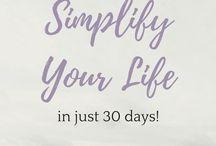 Simplify / Keep it simple!