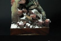 Dioramas/ Figures/ Scale Moddelling