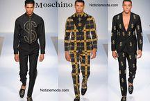 Moschino uomo / Moschino collezione e catalogo primavera estate e autunno inverno abiti abbigliamento accessori scarpe borse sfilata uomo.