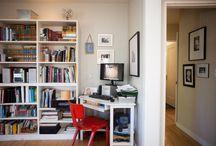 Bookshelf & study areas