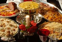 pratos de Natal salgados