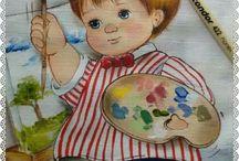 Dibujos Infantiles de Niños