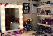 Vanity board / Tays room