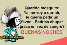 BUENAS NOCHES Y DIAS