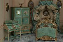 Nukkekodin huonekalut