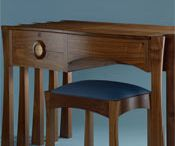 Dressing tables by Nick Thwaites Furniture.