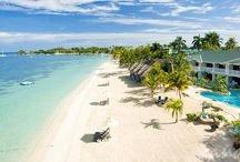 Sandals Negril / With its blissful ambience of laid-back cool and uninhibited revelry, Sandals Negril epitomizes the free-spirited personality that has long made Negril the exotic playground of choice for fun-loving pleasure seekers. Here on sands of pure white kissed by a sea of aquamarine, this decadently carefree resort is nestled within lushly landscaped acres along the island's legendary Seven-Mile Beach, putting you closer to the water than anywhere else in Negril.