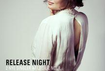 Music / music. Singer Cecilie Noer from Denmark.