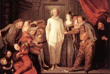 Jean-Antoine Watteau (1684 - 1721) / Art from France.