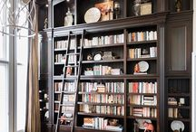 Library / This is a custom library we were hired to design.