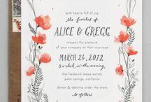 CLK Wedding invites
