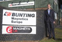 Company News / General information and news about Bunting Magnetics Europe.