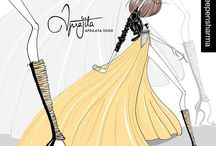 Sketch book / speaking the language of #fashion through our #illustrations ..  #fashionillustrations #style