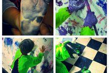 Il nostro laboratorio di creatività bimbi / Molto di più di un laboratorio di pittura, è un luogo dove vivere un momento di gioia e libertà:  è  uno  spazio fisico e mentale di esclusiva proprietà dei bambini, per stimolare, arricchire e ampliare la loro fantasia!