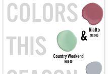 House paint colours 2016