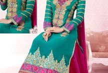 Latest Salwar Kameez / Check out our brand new collection of salwar kameez perfect for parties & events. Shop now your favorite attire from http://www.mishreesaree.com/Online/New-Arrivals/Latest-Salwar-Kameez