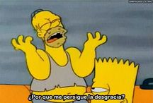 The Simpsons  (._. )